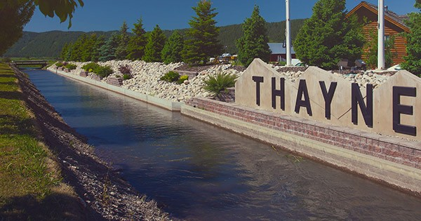 Welcome To Beautiful Thayne Wy